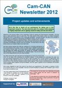 Cam-CAN Newsletter 2012